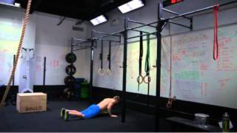 CrossFit - Burpee Bar Muscle-ups with Heber Cannon