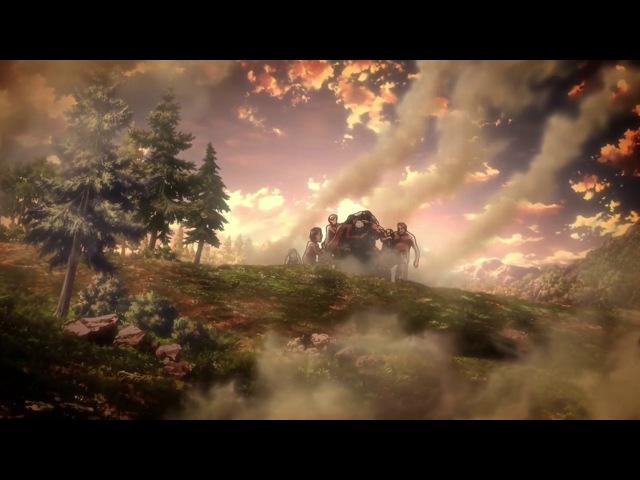 Атака Титанов (Вторжение Гигантов) 2 сезон 12 серия / Shingeki no Kyojin / 2017 / ПМ (NewComers) / WEB-DL ...