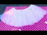 DIY Marshmallow Tutu!!! By Sara Beauty Sara Corner!!💖💖💖