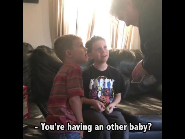 Vocês Vão Ter Um Irmãozinho
