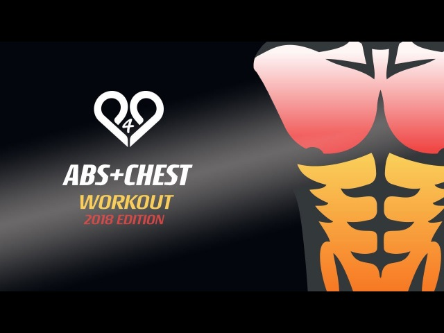 FAST CHEST ABS WORKOUT at home with trainer tips Ultimate killer training by P4P