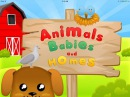 Animals Babies and Homes - First Words Preschool and Kindergarten Learning Puzzle