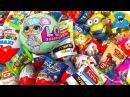 Киндер Сюрпризы,Мини Лента 2,L.O.L Surprise Тролластики,Unboxing Kinder Surprise,Giant Egg Surprise!