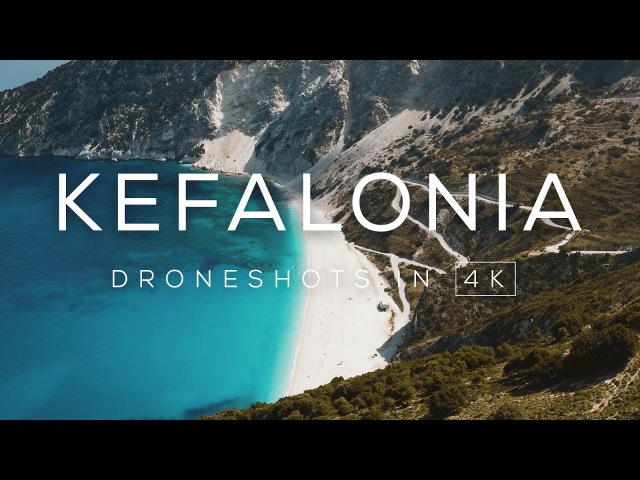 Ionian Island Kefalonia, Greece | Drone video in 4K