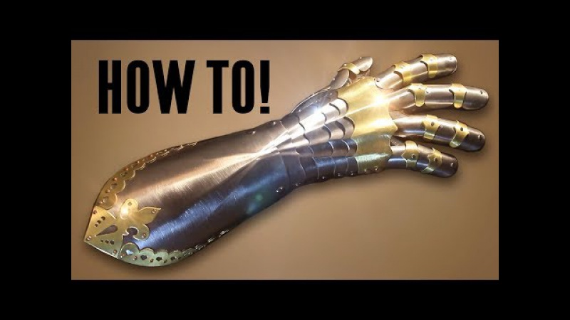 How to Make a Gothic Gauntlet Armor Tutorial