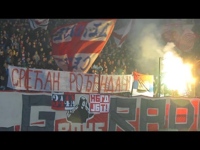 Delije - Srecan rodjendan, generale! Ratko Mladic! | Crvena zvezda - Javor 3:0