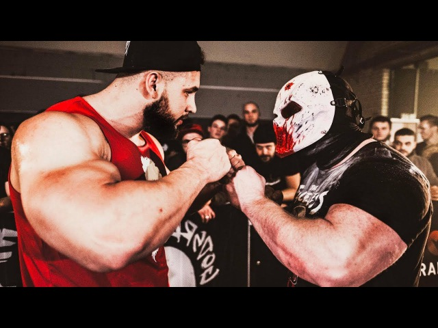 THE FINAL FIGHT The Faceless VS Anabolic Horse - Strength Wars Final 2k17