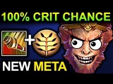 UNLIMITED CRIT MONKEY KING - DOTA 2 PATCH 7.07 NEW META PRO GAMEPLAY