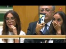 Алиев в ООН говорит о трагедии в Ходжалу а в это время жена и дочь забавляются