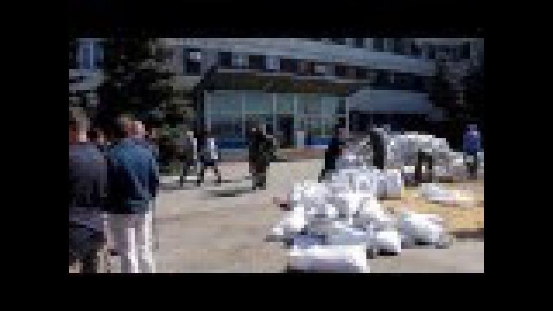 Ополченцы ДНР захватили Константиновский исполком горсовета и горотдел милиции
