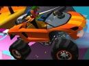 Машинки видео для детей отказали тормоза faily brakes КЛОУН КАТАЕТСЯ НА ДЖИПАХ от пап ...