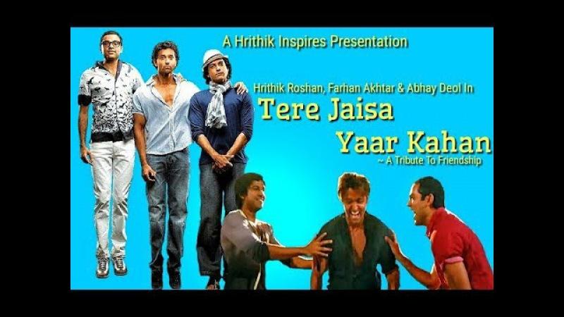 Tere Jaisa Yaar Kahan feat Zindegi Na Milegi Dobara Hrithik Roshan Farhan Akhtar Abhay Deol