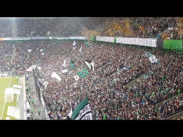 Gladbach - Schalke 2:1 Nordkurve Zusammenschnitt 7.12.2013 HD
