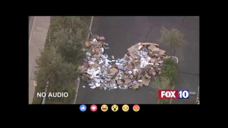 Американец едва остался жив, проехав 16 километров в кузове мусоровоза