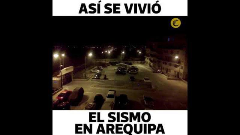 Los daños en Arequipa tras el fuerte sismo