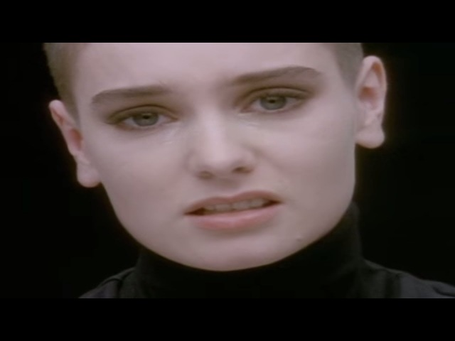 Sinéad O'Connor Nothing Compares 2U Official Music Video