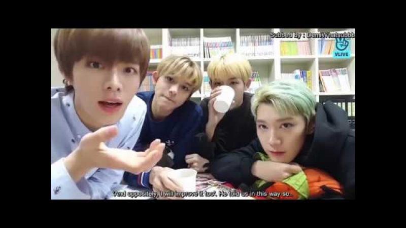 ENG SUB V LIVE NCT Yuta Ten Winwin Lucas 💚Yut Ten Win Luc💚