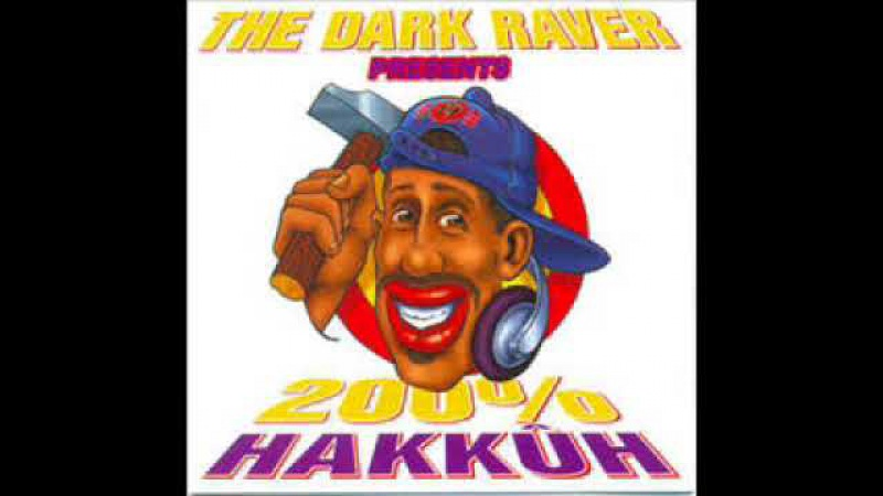 THE DARK RAVER - 200% HAKKûH [FULL ALBUM 77:19 MIN] HD HQ HIGH QUALITY 1996 BEST HARDCORE GABBER