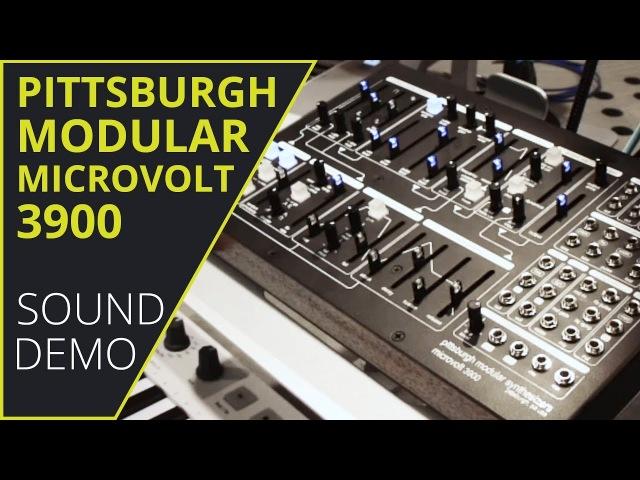 Pittsburgh Modular Microvolt 3900 Sound Demo (no talking)