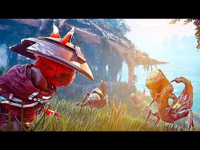 BIOMUTANT - NEW Gameplay Trailer Character Creation (2018) PS4/Xbox One/PC