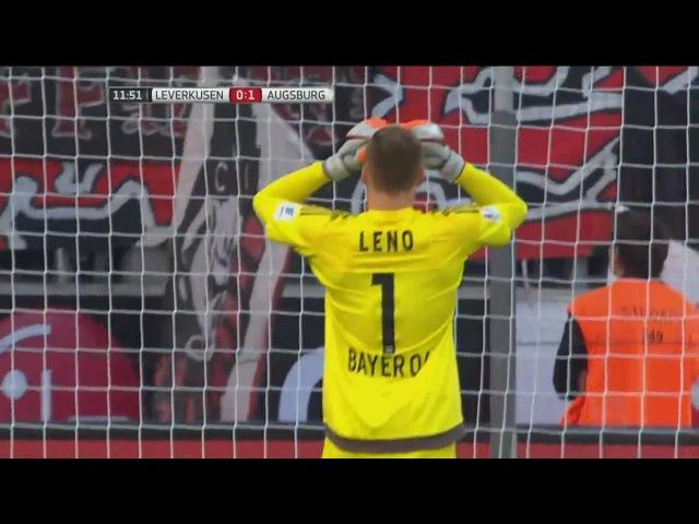 Bernd Leno • Fail of the Year - Bayer Leverkusen vs Augsburg