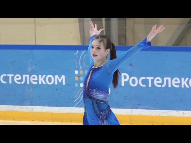 Анастасия Тараканова КП Финал Кубка России 2018