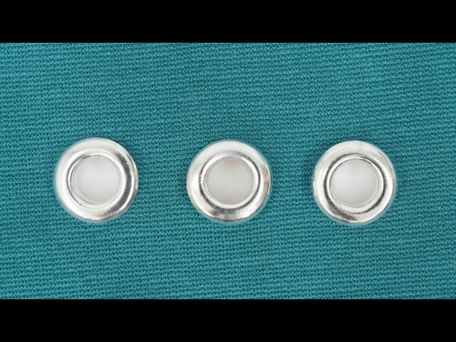 How to Insert an Eyelet in Fabric
