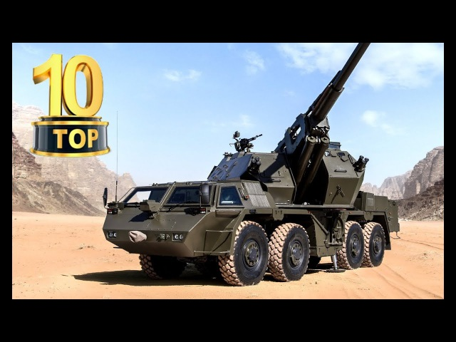 TOP 10 Best Artillery Systems (Self propelled Howitzers) 2018📌