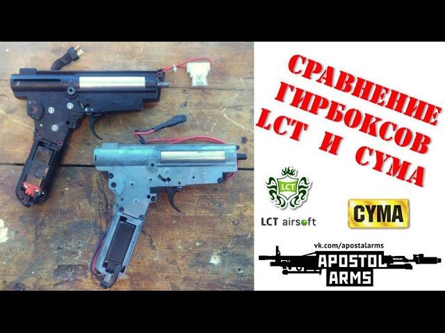 Сравнение гирбоксов CYMA и LCT/
