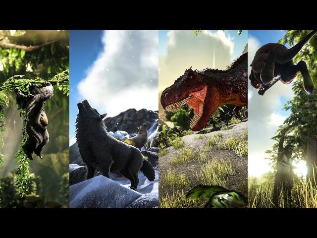 TLC Pass 1: Rex, Procoptodon, Gigantopithecus, Direwolf, Direbear!