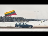 Volvo meet. Celebrating 100 year of regained independence of Lithuania.
