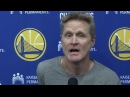 Hear from Steve Kerr as he praises Stephen Curry's career and performance so far this season