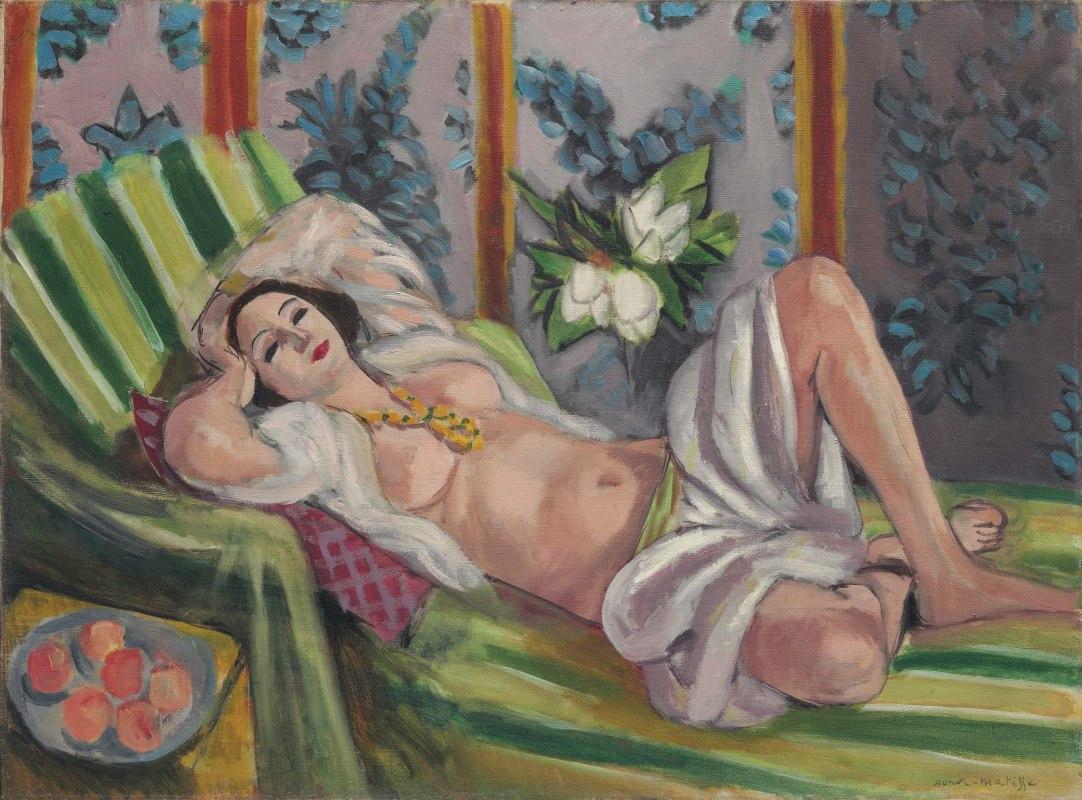 Картина Матисса «Одалиска, лежащая под магнолиями»  выставлена на торги