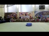 Парад открытия и награждения гимнасток. Осенняя симфония. Магнитогорск, 21.11.2017