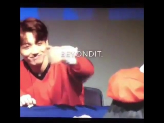 jungkooks reaction after an army didnt notice his high five omg i feel bad for laughing he got so shy
