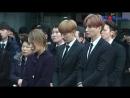 [S영상] 故 종현 발인, 샤이니-슈퍼주니어-소녀시대 등 눈물의 발인식 (Shinee Jonghyun)