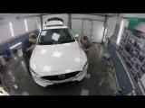 Оклейка пленкой Never Scratch Mazda 5