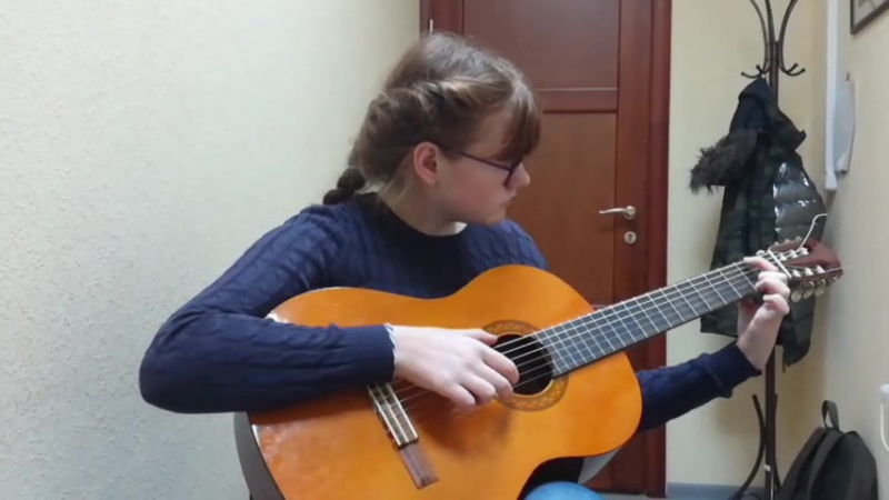Ангелина Артемьева - «Бурре» (Леопольд Моцарт)