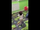 Малышки на первых в своей жизни занятиях.