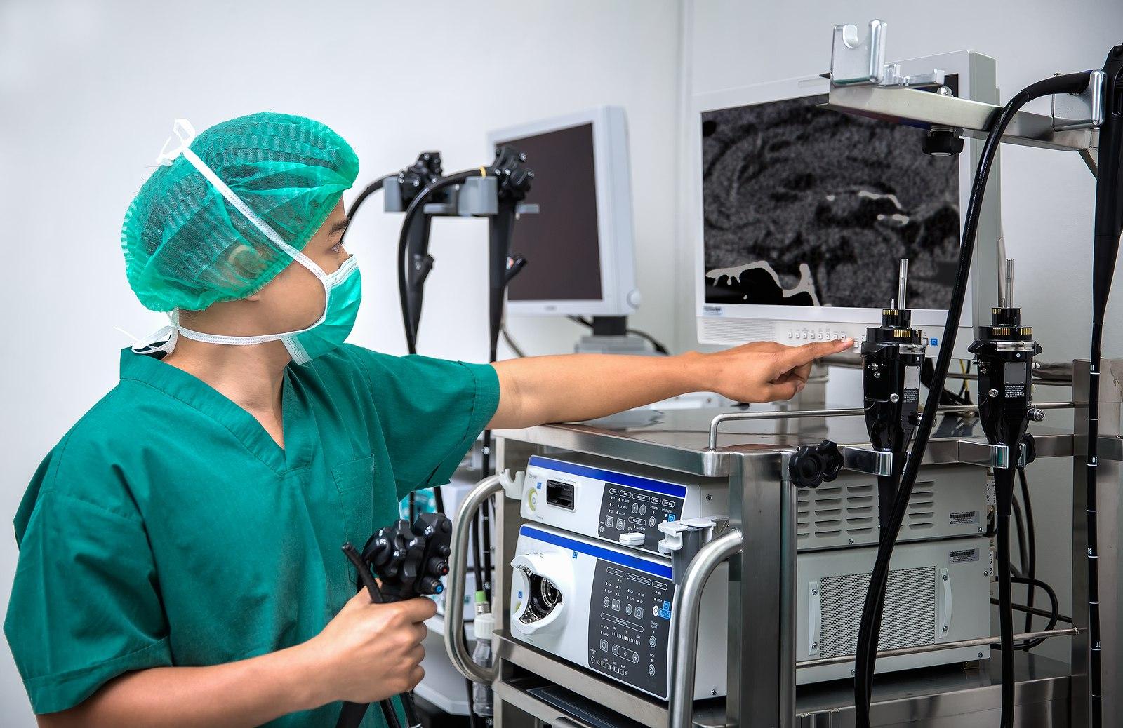 система эндоскопа и лапароскопа