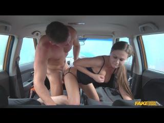 Fakedrivingschool tina kay backseat blowjobs and deep creampie new porn 2017