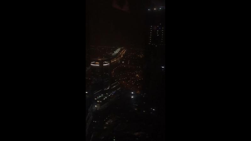 Вид с окна. Офис LIKE Центра. 46 этаж
