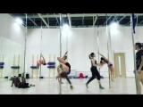 На Pole Dance у Марины Юн