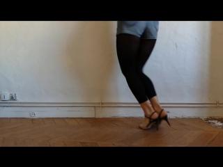 Женские танго-техники для милонги от Вероники Тумановой.