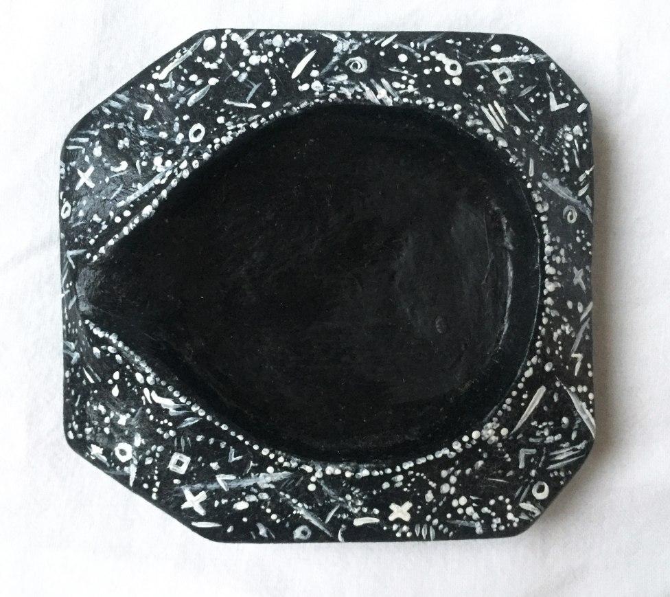 Abstract ashtray