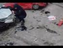 Авария на Димитровском мосту 28.01.17