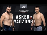 UFC Fight Night 122 Asker vs Yaozong