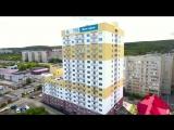 Одесская 3д  жилой дом переменной этажности в районе 3-й Дачной, на пересечении улиц Одесская и Лунная.Зодчий 3 (верс инт)