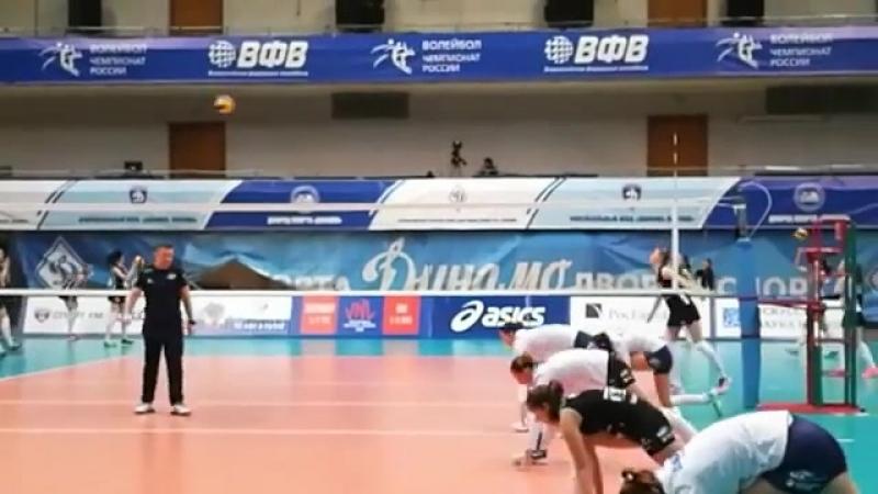 Разминка Жвк Динамо Москва vs Ленинградка
