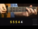 Как играть ЛЮБЭ ТЫ НЕСИ МЕНЯ РЕКА на гитаре Разбор Видео урок разбор